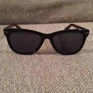Cole Haan Tortiose Wayfarer Sunglasses